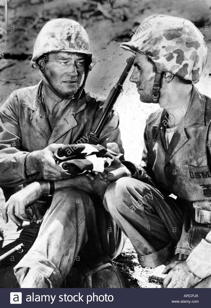 """movie, ""sands Of Iwo Jima"", Usa, 1949, Director: Allan Dwan, Scene Stock Photo, Royalty Free Image: 16013754 - Alamy"