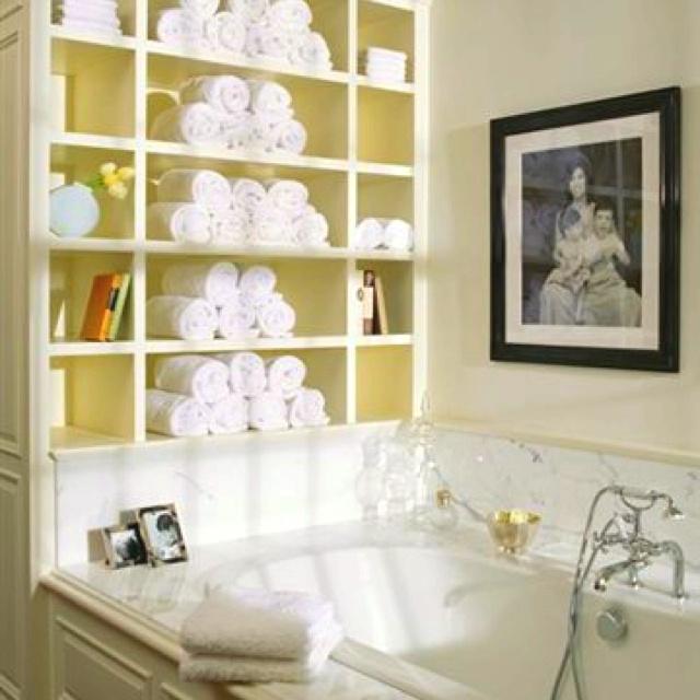 Best Bath Towel Display Images On Pinterest Towel Display - Fuschia bath towels for small bathroom ideas