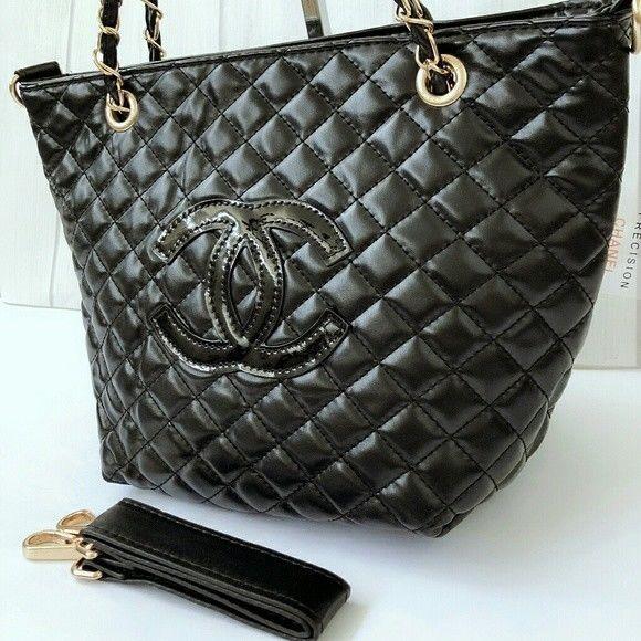 ac16e6fb5252e5 Details about Chanel Paris Beaute VIP Gift Bag Nylon Clutch Shoulder ...