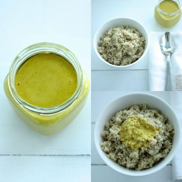 Anti-Inflammatory Turmeric Tahini Dressing (vegan, gluten-free, oil-free) | Choosing Raw