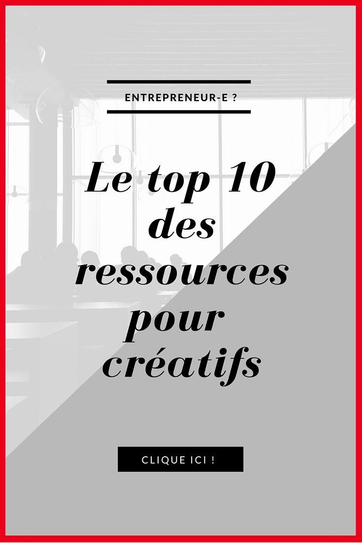 Voici le top 10 des ressources pour créatifs, garanties faciles, efficaces et utiles! Clique ici : http://selmapaiva.com/le-top-10-des-ressources-pour-creatifs/