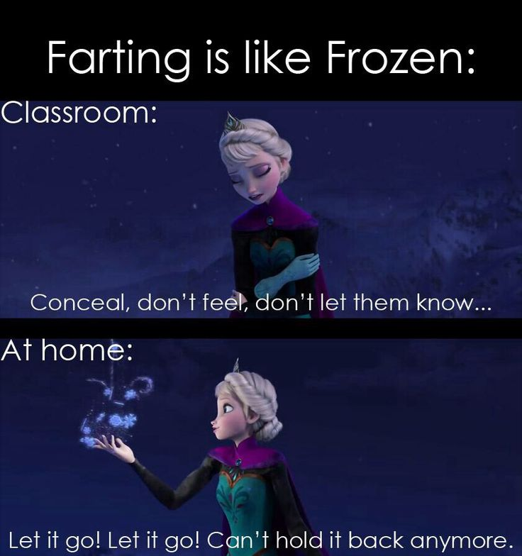 Frozen humor :) a little inappropriate but hilarious bc my daughter sings this song non stop.  had to pin!!
