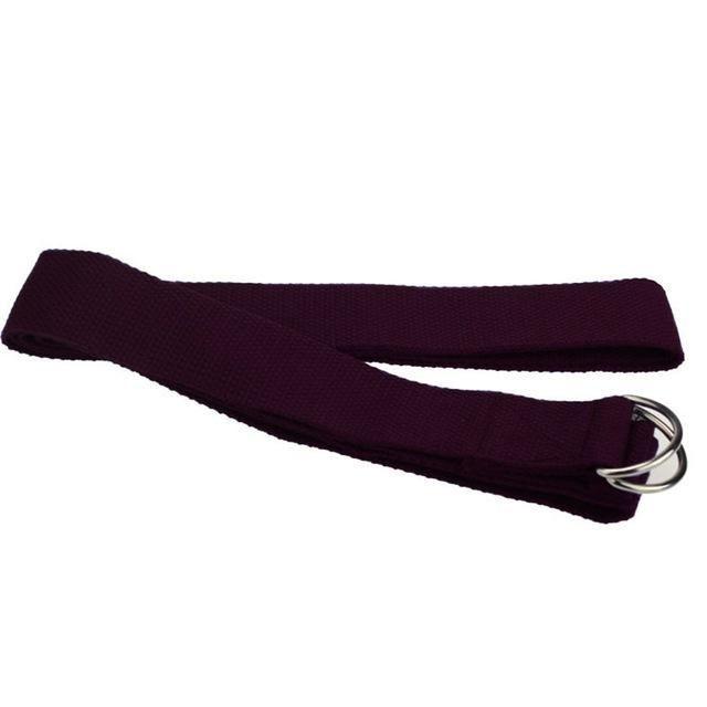 New Multi-Colors Women Yoga Stretch Strap D-Ring Belt Fitness Exercise Gym Rope Figure Waist Leg Resistance Fitness Bands Cotton #YogaTips,PosturesAndTechniques