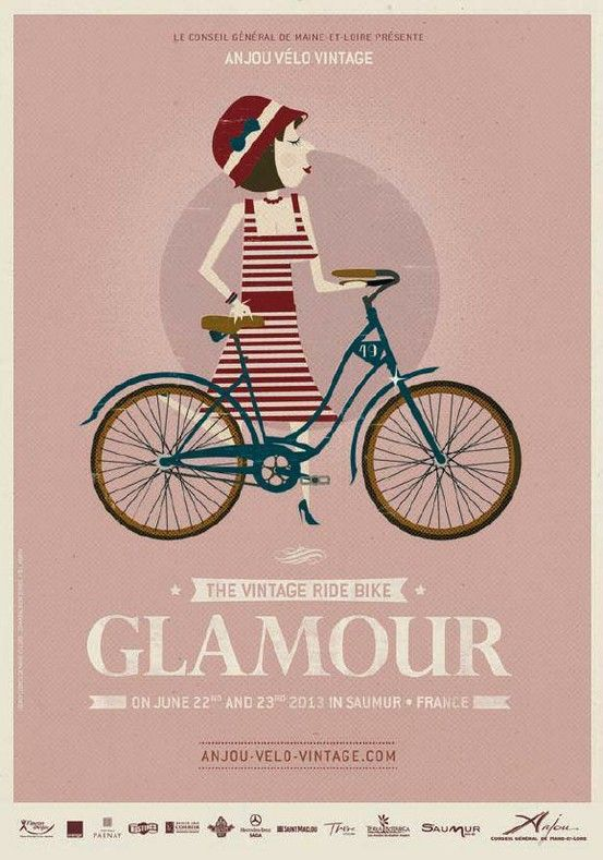 We're so looking forward to the Anjou Vintage Velo extravaganza in June - already planning our outfits!