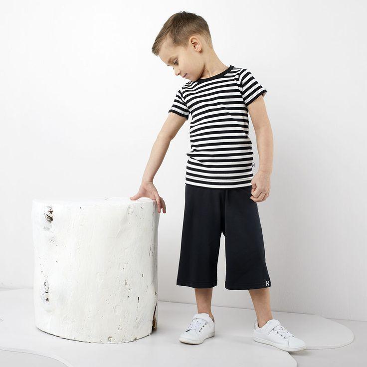 GROOVE lasten trikoohousut, tumma grafiitti
