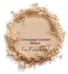 Camouflage Concealer Medium.  Contains NO: - Parabens - Sulfates - Synthetic Fragrances - Synthetic Dyes - Petro-Chemicals - Phthalates - Harmful Preservatives - Oils - Fragrances - Chemicals - Silicones - Waxes - Talcs - Starches - Alcohols - Carmine - Bismuth or Parabens.