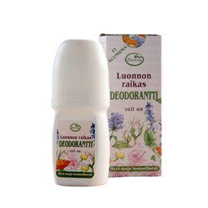 Déodorant roll-on, de composition naturelle il protège, parfume et apaise délicatement les aisselles.