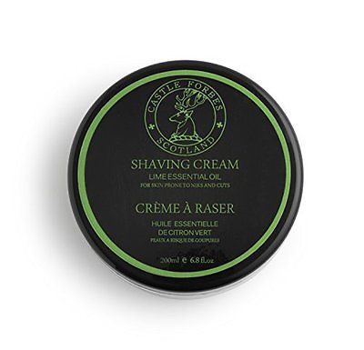 Shaving Creams Foams and Gels: Castle Forbes Lime Oil Shaving Cream 6.8 Fl. Oz BUY IT NOW ONLY: $42.67