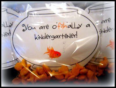 Ms.V's Kindergarten Pride: Open House- You are O'Fish'ally a Kindergartener!