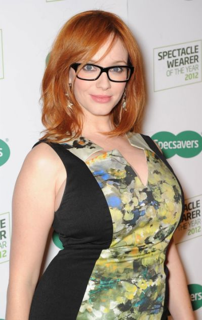 Christina Hendricks At Spectacle