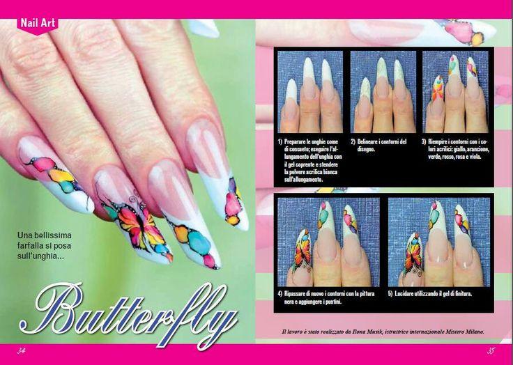 155 best butterfly nails images on Pinterest | Butterflies ...