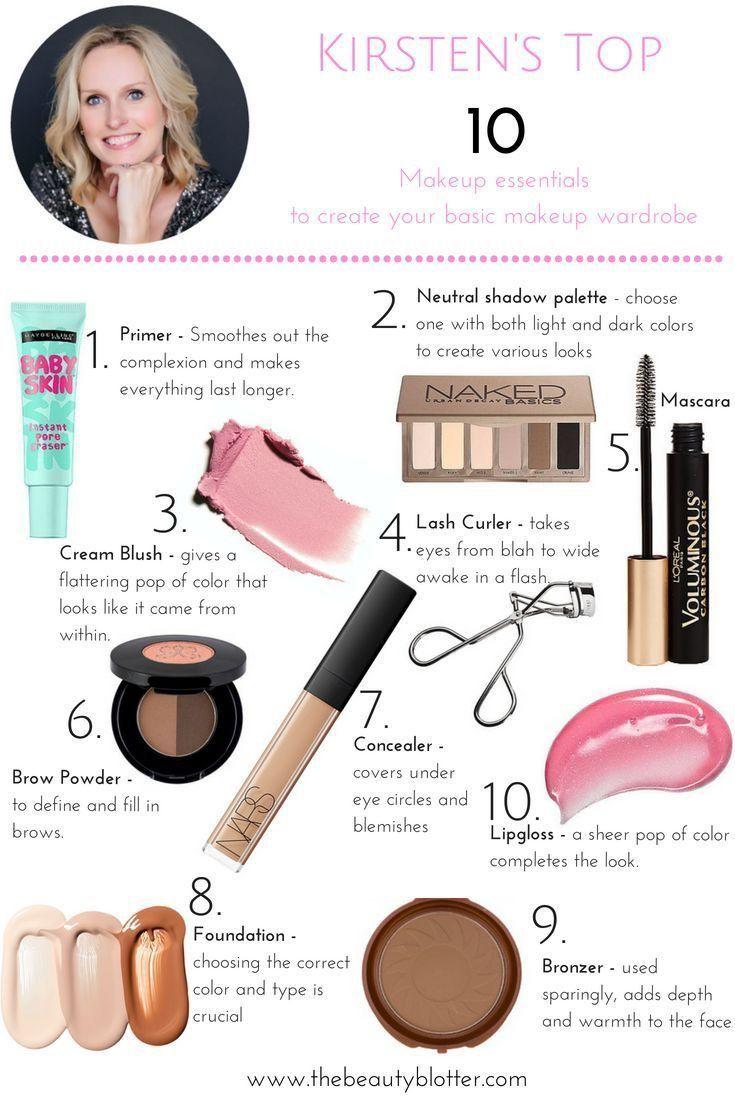 MakeupIdeasBeginners Basic makeup, Makeup essentials