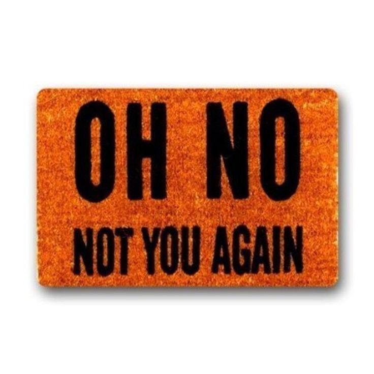 """Купить товарНет, Только Не Вы Снова Машина Моющиеся Дверные Коврики Крытый Открытый Дом Коврик Д х Ш 30 (L) x18 (W) в категории  на AliExpress.     коврик Размер: 30 """" (L) х 18 """" (Ш)в помещении и на открытом воздухе использоватьстирать в стиральной"""