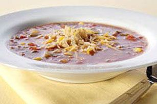 Mexican Tortilla Soup recipe.  Will make this someday.  Hope it is just as good as my fave at a restaurant in Vegas.