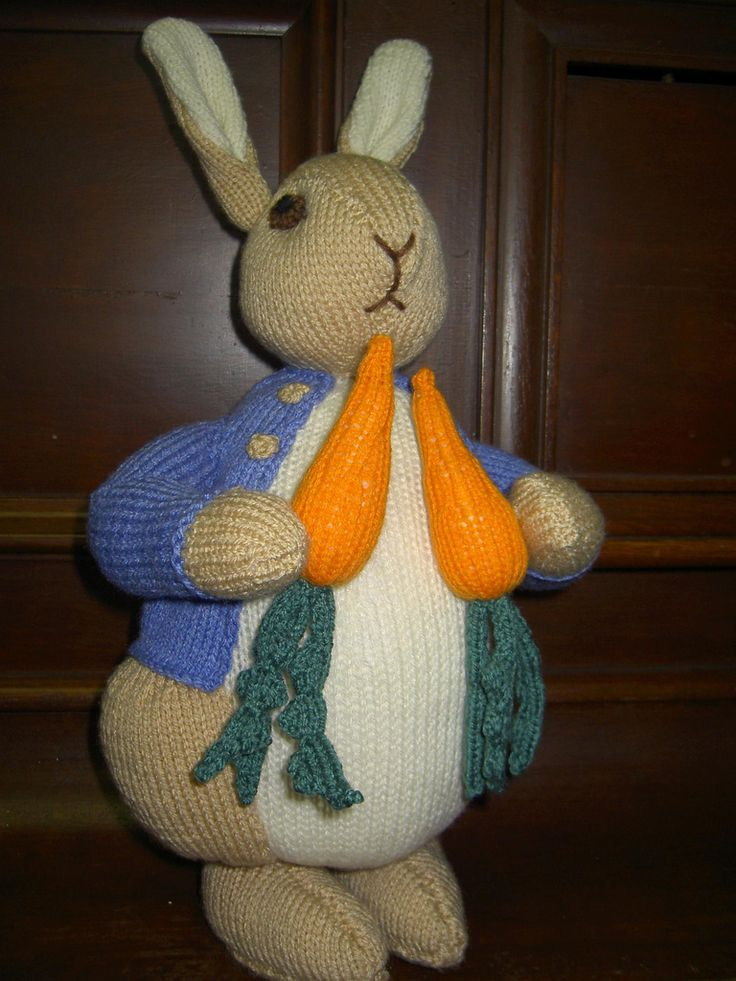 Peter Rabbit Knitting Patterns Free : Images about knitting on pinterest knit patterns