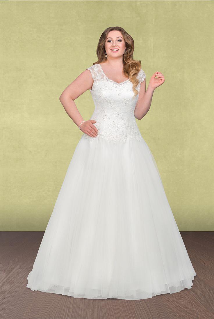 76 best Plus Size A-Linie & Empire Silhouette - Dein XL Brautkleid ...