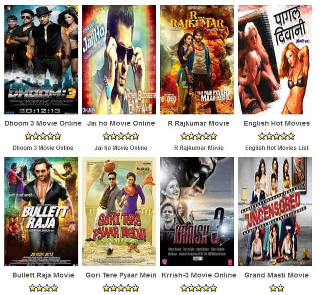 Watch All Latest BOLLYWOOD + HOLLYWOOD Movies Online in H.D Definition..!! Recently We have Uploaded... (1) Dhoom-3 (2) R..Rajkumar (3) Bullet Raja (4) Krrish-3 (5) Gori Tere Pyaar Mein  And many more at : http://freeonlinemovies.tv/