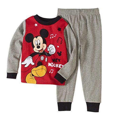 Mickey Mouse Baby Jungen Lang Pyjama Schlafanzug