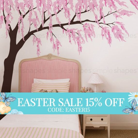 Best Trees On Walls And Girly Rooms Images On Pinterest Tree - How to put up a tree wall decal