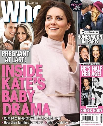 The Duchess Of Cambridge: Pregnant At Last!