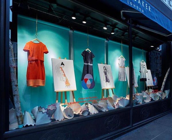 Ted Baker x Colour By Numbers - Retail Focus - Retail Blog For Interior Design and Visual Merchandising
