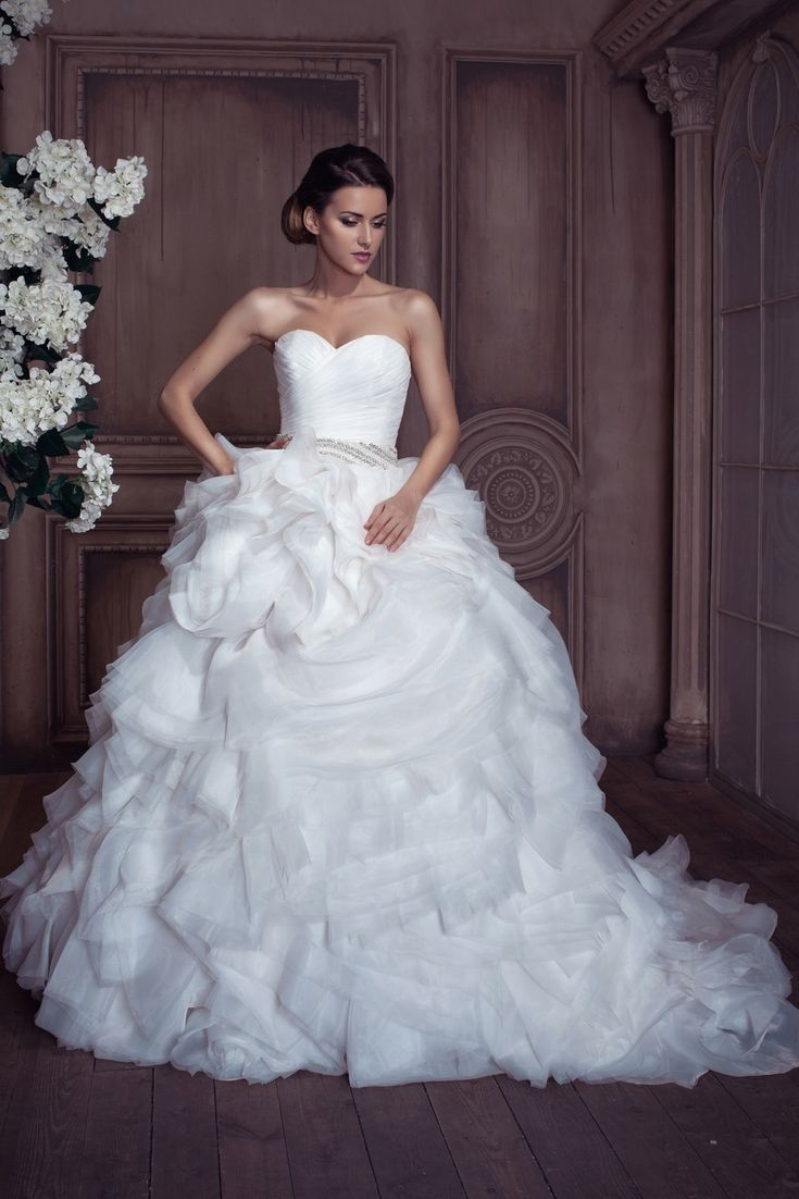 6547 best A - Bridal Gowns images on Pinterest | Groom attire ...