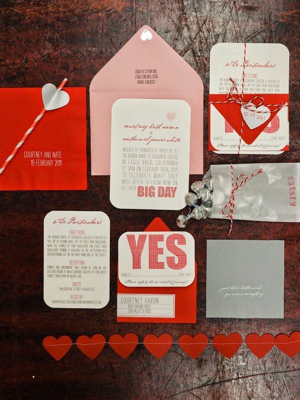 Red Wedding Invitations Elegance Personified Read