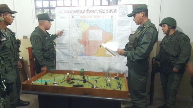 Maquetas de kinder de plastilina son usadas por las Fuerzas Armadas de Venezuela