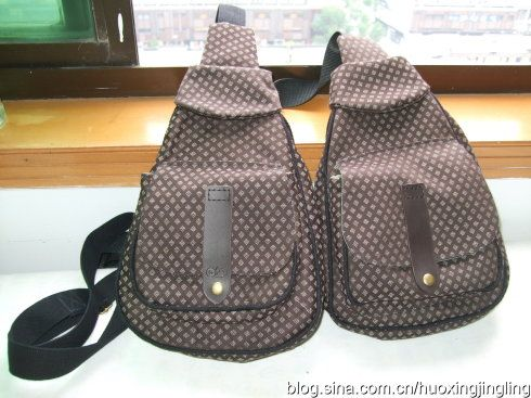 Backpack Pictorial Instructions [转载]实用又防盗的美丽胸前包