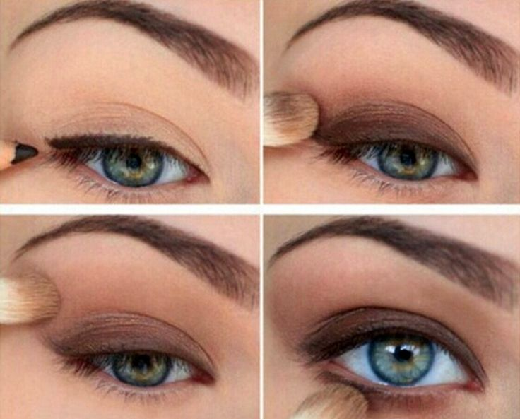 nice 50 Идей, как сделать макияж для глубоко посаженных глаз — Пошаговое фото