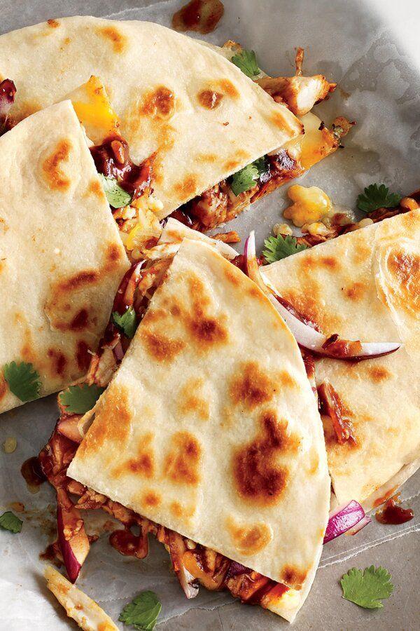Kickin Bbq Chicken Quesadilla Recipe Recipe Fast Easy Meals Bbq Chicken Quesadilla Meals
