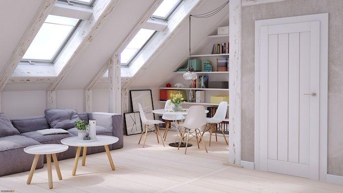 Kleine Dachgeschosswohnung Einrichten