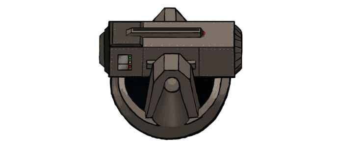 Missile Turret, #conceptart from Corp Wars: The Siege by @Kybernesis #GameDev #CorpWars