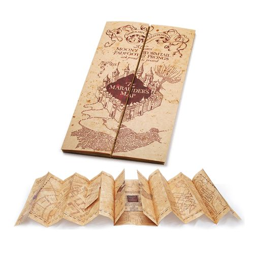 Harry Potter Marauder's Map Replica - Noble Collection - Harry Potter - Prop Replicas at Entertainment Earth To BUY NOW CLICK LINK BELOW http://www.entertainmentearth.com/prodinfo.asp?number=NBHP7888&id=TO-603025911
