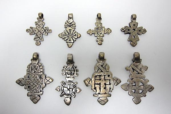Various Ethiopian Crosses www.beadsofparadisenyc.com