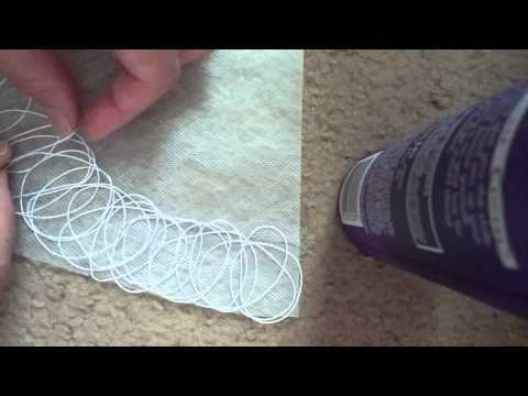 Крейзи Вул. Колье, Мастер-класс,Урок 1 часть 1. Раскладка ниток. Crazy Wool - YouTube