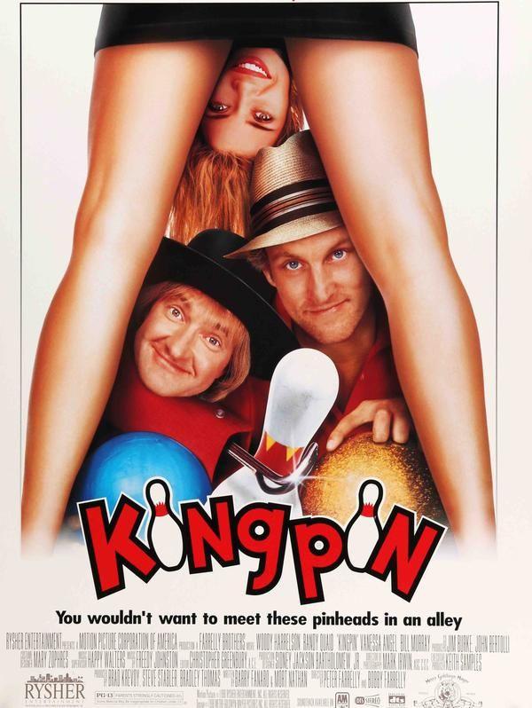 Kingpin (1996) Original Movie Poster #1990s #Bill-Murray