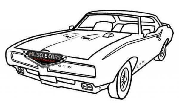 Free Muscle Cars Coloring Pages Cars Coloring Pages Truck Coloring Pages Car Drawings