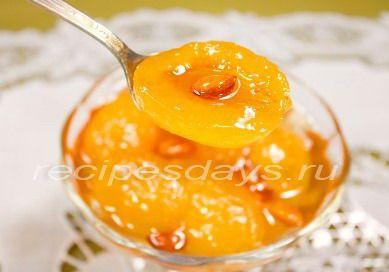 Варенье с ядрышками из косточек абрикоса. Оригинальный рецепт понравится всем без исключения.