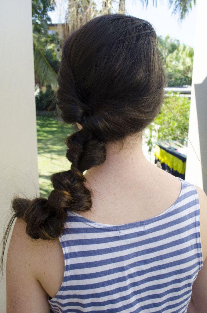 Boho Ponytail - Boho/ Beach/ Summer hair styles