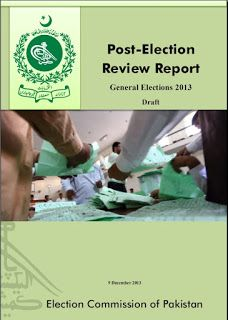 Post Election Review Report General Elections 2013  Download or read online This Book click the link http://iqbalkalmati.blogspot.com/2015/12/post-election-review-report-general.html