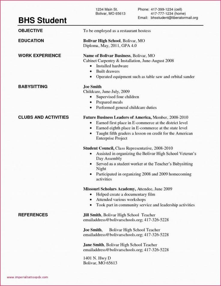 31 Computer Science Resume Template Decide on a resume