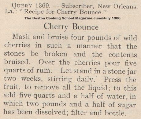 Cherry Bounce | 1908