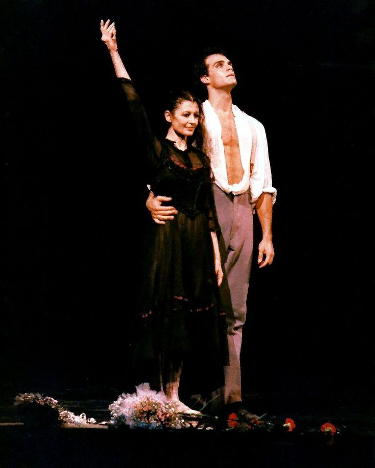 Paul Chalmer answers the Gramilano Questionnaire… Dancers' Edition - Paul Chalmer with Carla Fracci in Senso – Teatro Massimo, Palermo