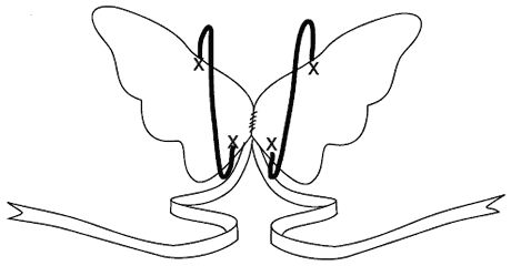 Free tutorial to make wings - fairy, butterfly and bat.  Plan to use for S's tooth fairy costume for Halloween.