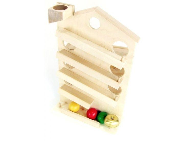 Dřevěná pohyblivá hračka pro děti od 3 let. Český výrobek značky DIHRAS.
