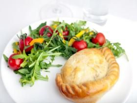 Gluten free vegetable pasty