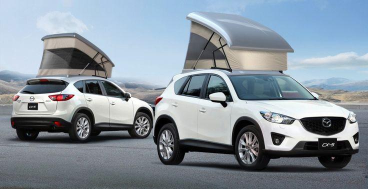 Компания Mazda разрабатывает специальное устройство для модели CX-5, предназначенное для любителей путешествий и активного отдыха. Кемпер на базе кроссовера уже начал проходить испытания в Японии. #mazda - #cx5 - #кроссоверы - #внедорожники - #тестдрайвы - #стиль