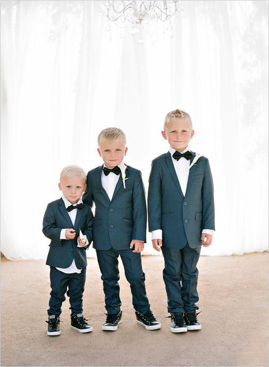 dapper little ring bearers @weddingchicks