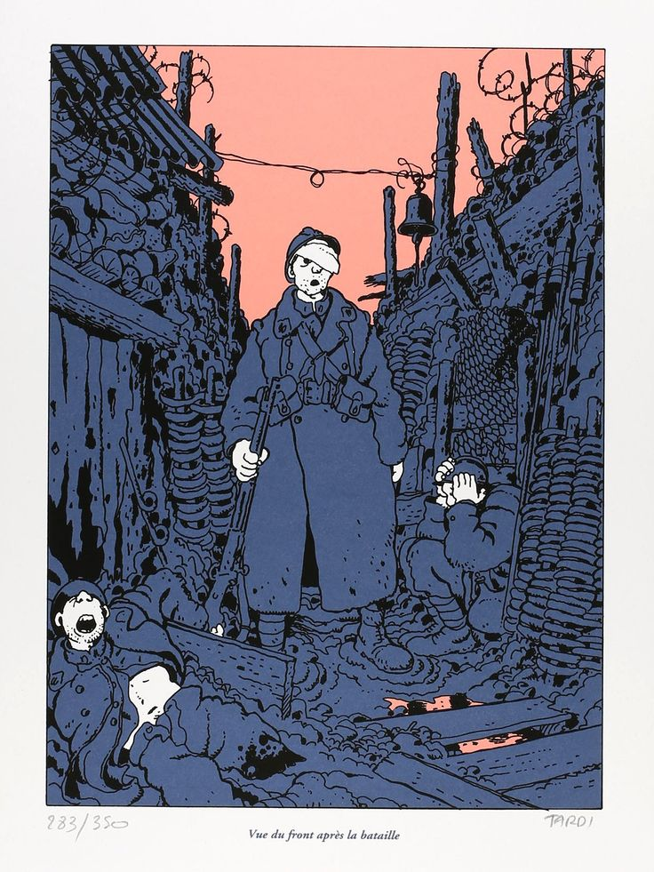 9emeart: Apres la bataille Tardi Into the trenches with Jacques Tardi